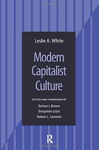 9780815346739: Modern Capitalist Culture