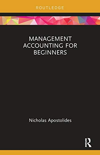 9780815351221: Management Accounting for Beginners (Routledge Focus on Business and Management)