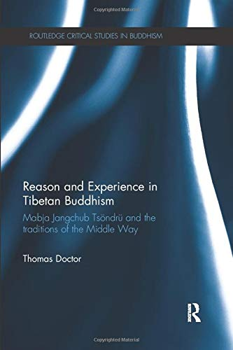 9780815369141: Reason and Experience in Tibetan Buddhism: Mabja Jangchub Tsöndrü and the Traditions of the Middle Way (Routledge Critical Studies in Buddhism)