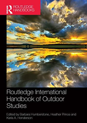 9780815384052: Routledge International Handbook of Outdoor Studies (Routledge International Handbooks)