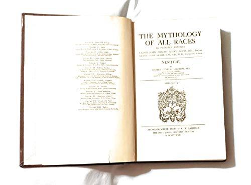 9780815401339: Semitic (Mythology of All Races, Volume V)
