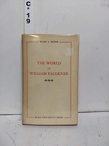 9780815401537: World of William Faulkner