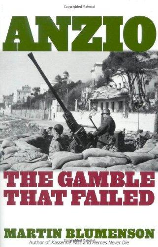9780815411291: Anzio: The Gamble that Failed