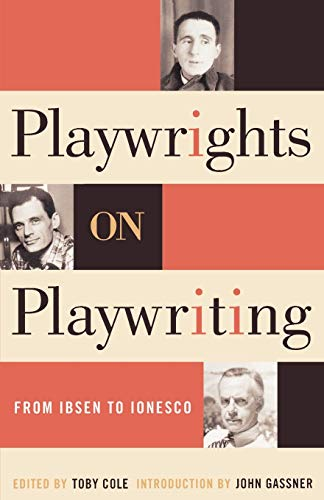 9780815411413: Playwrights on Playwriting: From Ibsen to Ionesco