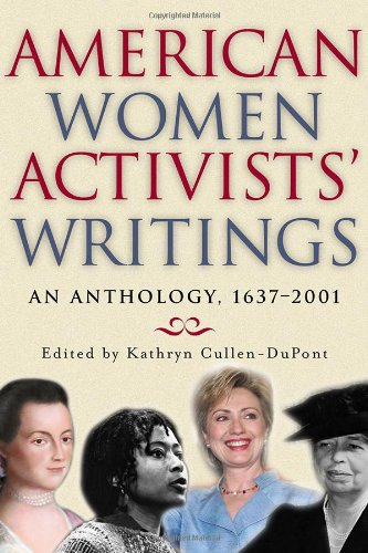 9780815411857: American Women Activists' Writings: An Anthology, 1637-2002