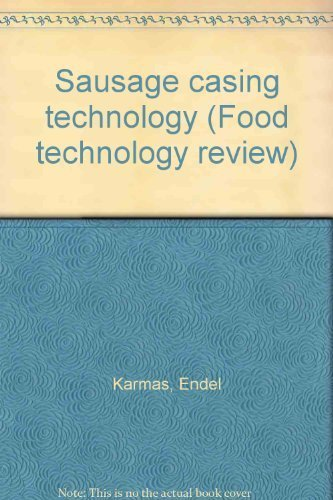 9780815505341: Sausage casing technology (Food technology review)