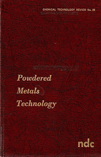 Powdered Metals Technology. Chemical Technology Review No. 38: McDermott, Powdered Metals ...