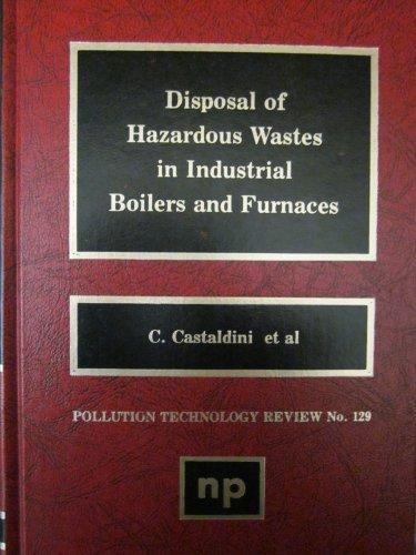 Disposal of Hazardous Wastes in Industrial Boilers: n/a