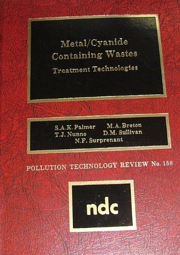 Metal Cyanide-Containing Wastes: Treatment Technologies (Pollution Technology: Breton, M. A.,