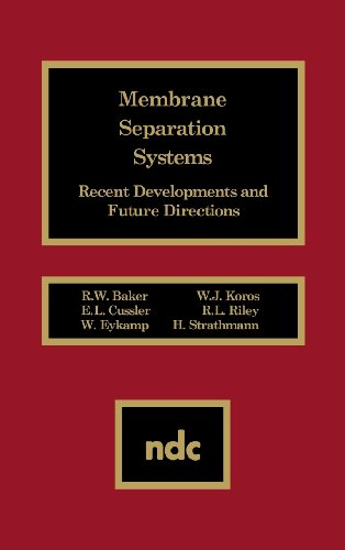 Membrane Separation Systems: Recent Developments and Future Direction: R. W. Baker