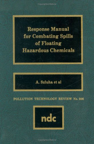 Response Manual for Combating Spills of Floating: Szluha, A.