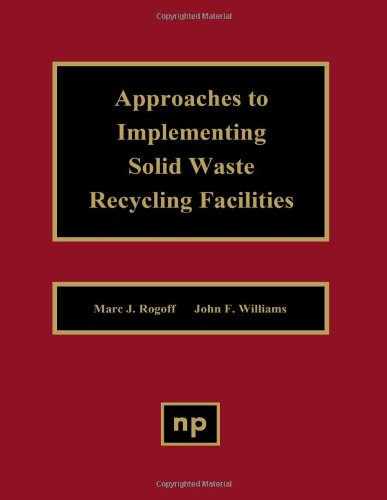 9780815513520: 'Approaches to Implementing Solid Waste Recycling Facilities