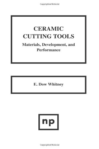 9780815513551: Ceramic Cutting Tools: Materials, Development, and Performance