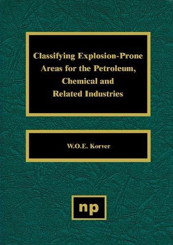9780815513667: Classifying Explosion Prone Areas for the Petroleum, Chemical and Related Industries