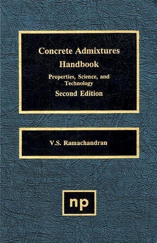 9780815513735: Concrete Admixtures Handbook: Properties, Science and Technology (Building Materials Science Series)