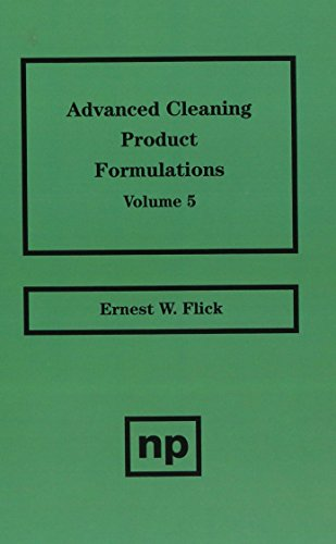9780815514312: Advanced Cleaning Product Formulations, Vol. 5: v. 5