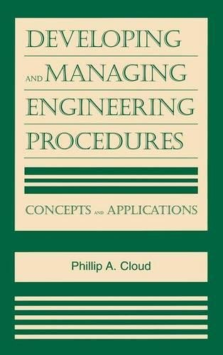 9780815514480: Developing and Managing Engineering Procedures: Concepts and Applications