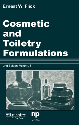 9780815514541: Cosmetic and Toiletry Formulations, Vol. 8 (Cosmetic & Toiletry Formulations)