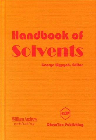 9780815514589: Handbook of Solvents (Chemicals)