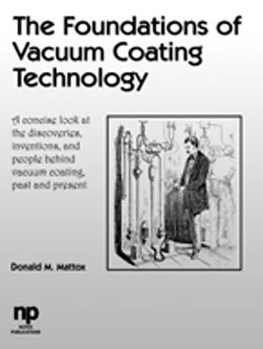 9780815514954: The Foundations of Vacuum Coating Technology