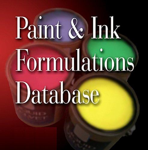 9780815515081: Paint & Ink Formulations Database