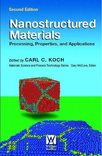 9780815515340: Nanostructured Materials: Processing, Properties and Applications