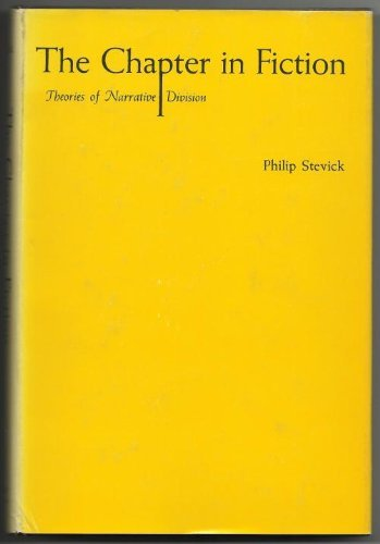 9780815600701: Chapter in Fiction Theories of Narrative Division