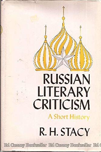 9780815601074: Russian literary criticism,: A short history