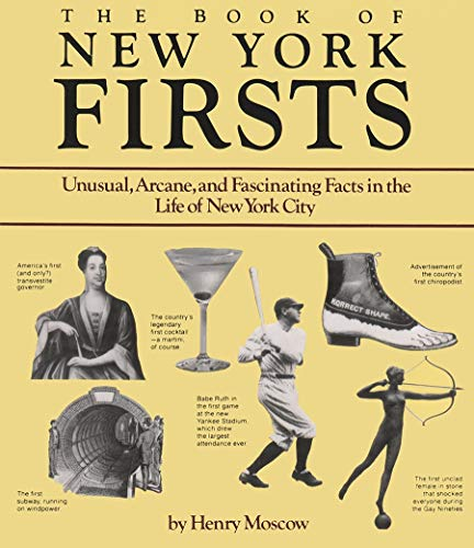 9780815603085: Book of New York Firsts (New York State Series)