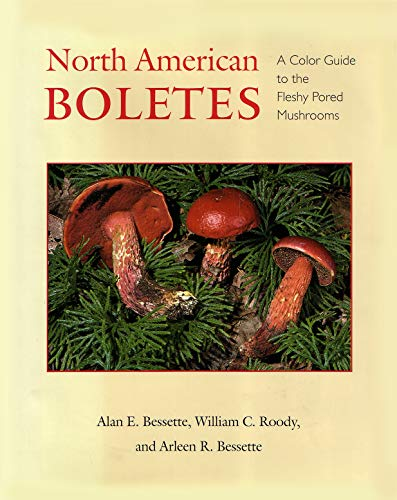 North American Boletes: A Color Guide to the Fleshy Pored Mushrooms (Hardcover): Alan E. Bessette