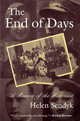9780815606161: The End of Days: A Memoir of the Holocaust (Religion, Theology, and the Holocaust Series)