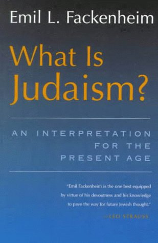 9780815606239: What Is Judaism?: An Interpretation for the Present Age (Library of Jewish Philosophy)