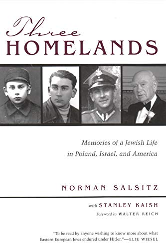 9780815607342: Three Homelands: Memories of a Jewish Life in Poland, Israel, and America (Religion, Theology and the Holocaust)