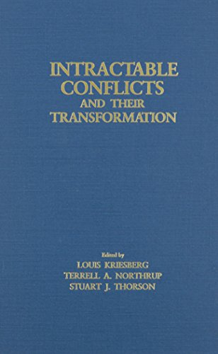 9780815624707: Intractable Conflicts and Their: Transformation (Syracuse Studies on Peace and Conflict Resolution)