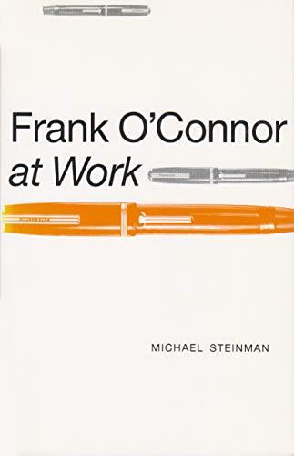 9780815624752: Frank O'Connor at Work (Irish Studies)