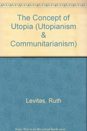 9780815625131: The Concept of Utopia (Utopianism & Communitarianism)