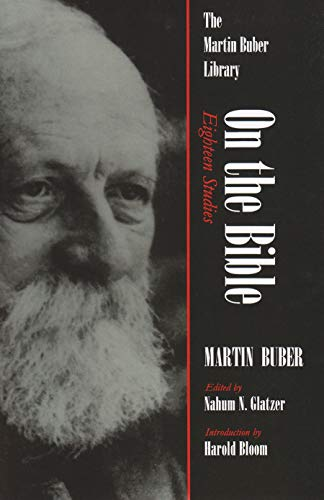 9780815628408: On the Bible: Eighteen Studies (Martin Buber Library)