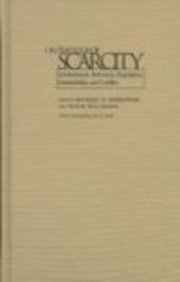 9780815629184: On the Edge of Scarcity: Environment, Resources, Population, Sustainability, and Conflict (Syracuse Studies on Peace and Conflict Resolution)
