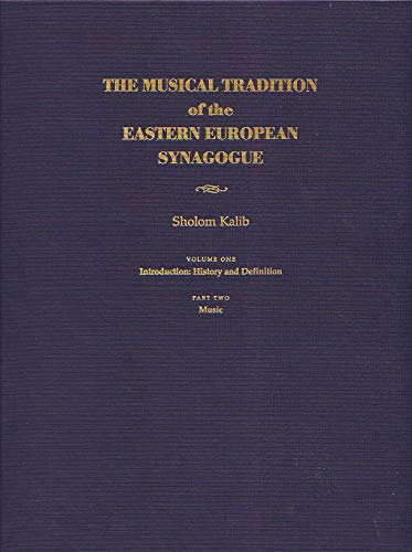9780815629276: The Musical Tradition of the Eastern European Synagogue