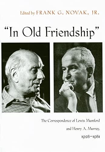 "In Old Friendship"": Frank G. Novak"