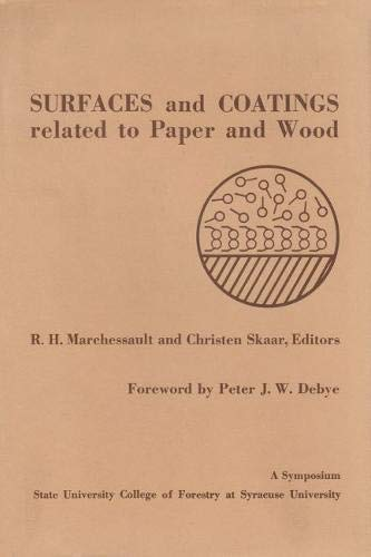 Surfaces & Coatings (Hardcover): Marchessault