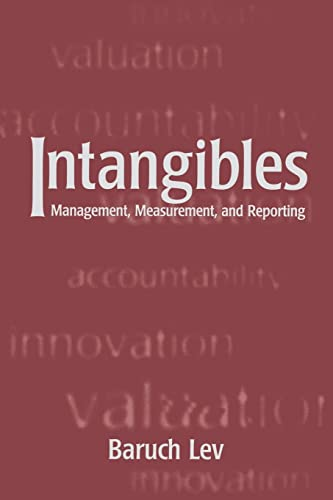 9780815700937: Intangibles: Management, Measurement, and Reporting