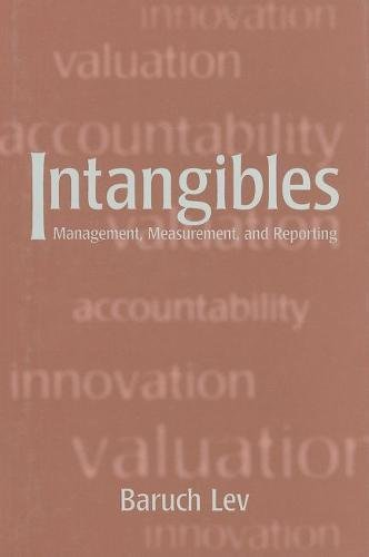 9780815700944: Intangibles: Management, Measurement, and Reporting