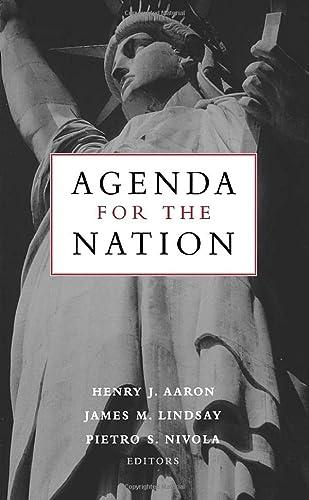 9780815701262: Agenda for the Nation