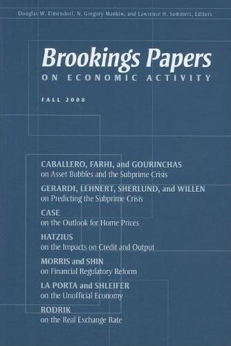 9780815702993: Brookings Papers on Economic Activity: Fall 2008