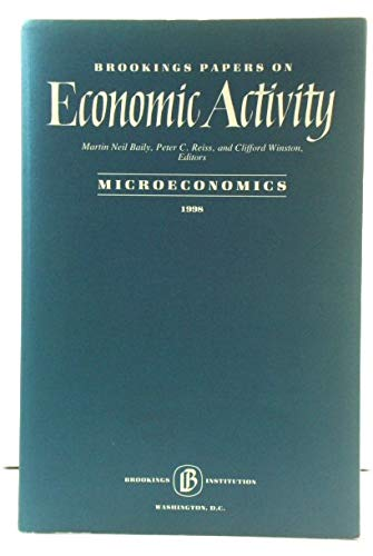 Brooking Papers On Economic Activity Microeconomics 1998: Baily, Martin Neil