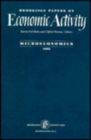 9780815712305: Brookings Papers on Economic Activity Microeconomics, 1992