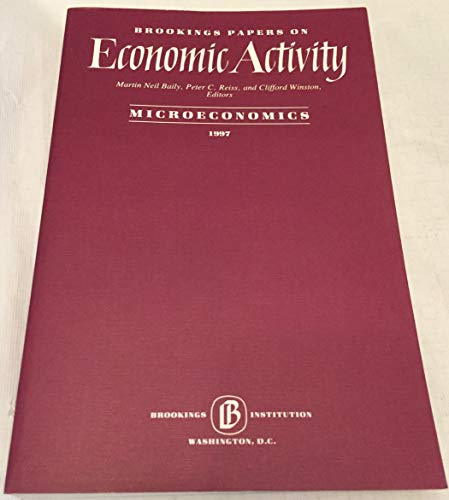 Brookings Papers on Economic Activity, Microeconomics: 1997