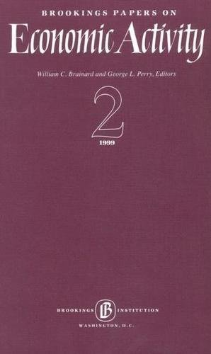 Brookings Papers on Economic Activity 1999:2 (Paperback)