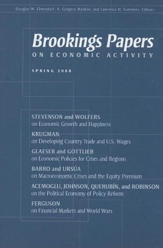 9780815713579: Brookings Papers on Economic Activity: Spring 2008